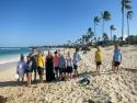 Ungdomsklubben på Coco beach