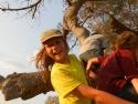 Klatring i Baobab